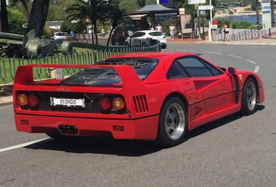 Ferrari F40 most iconic supercar