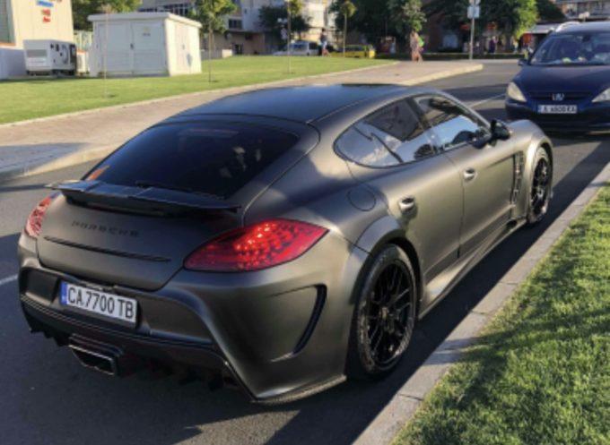 Dagens spot - Porsche Panamera Mansory