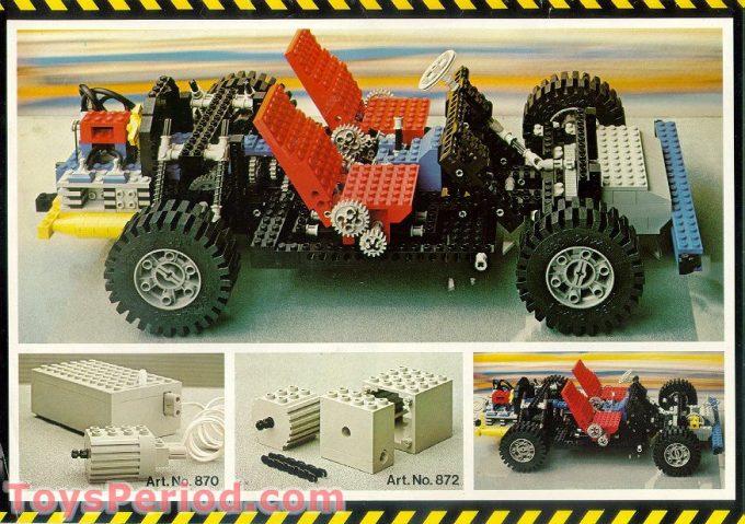 LEGO Technic anno 1980
