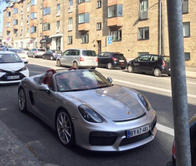 Porsche Boxster - Lej en Porsche