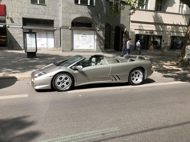 Lamborghini Diablo VT Roadster Berlin