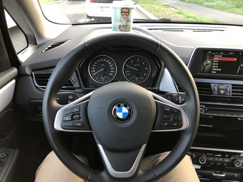 Jan Nygaard BMW 218d lånebil