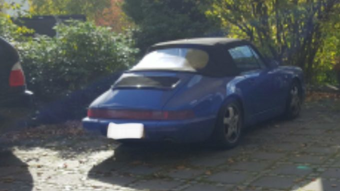 Porsche 911 cab