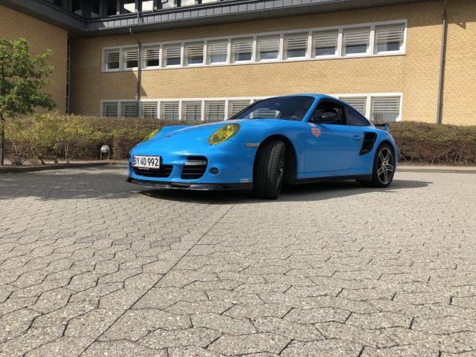 Porsche 911 Turbo S Lej en Porsche