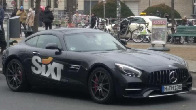 Mercedes Benz AMG GTS, Sixt