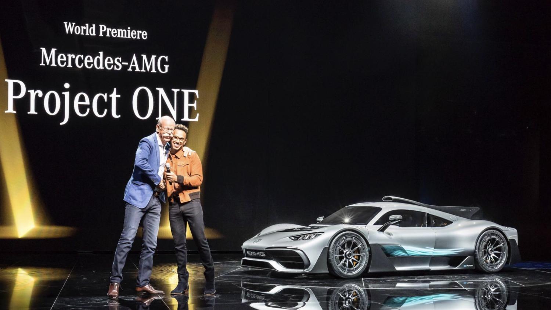 Mercedes-AMG One, Lewis Hamilton wish a LH Edition