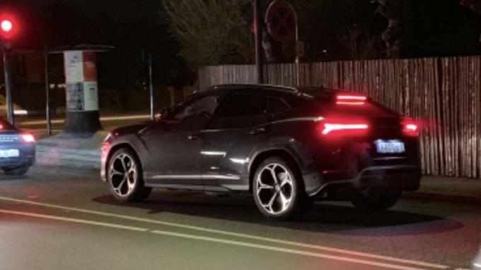 Dagens spot Lamborghini Urus
