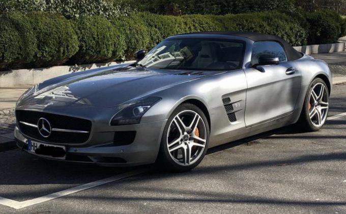 Mercedes-Benz SLS AMG - Dagens spot