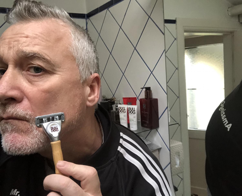 Bulldog barberskraber