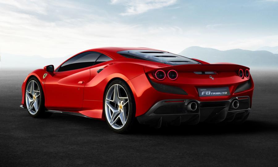 Ferrari F8 Tributo nyhed fra Ferrari