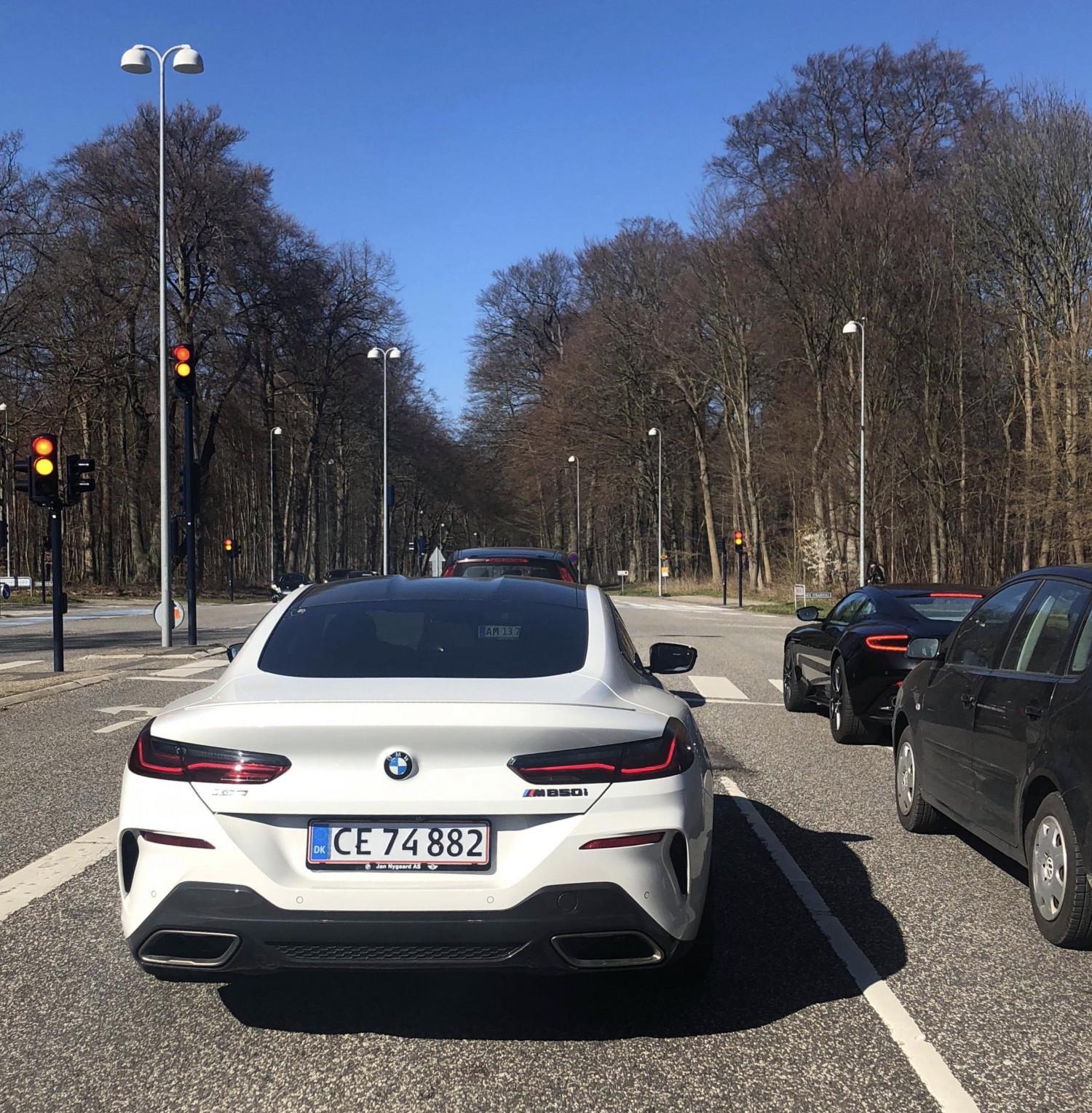 Jeres spot - Dagens spot af BMW M850i