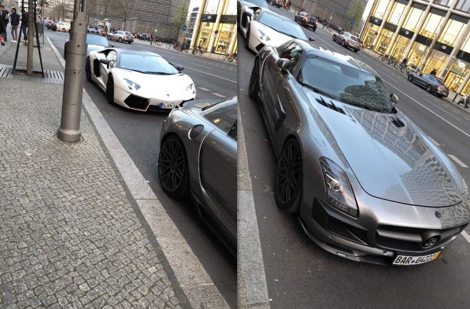 Dagens Spot, Lamborghini Aventador LP700-4 Pirelli Edition og Mercedes-Benz Brabus SLS 700 Biturbo