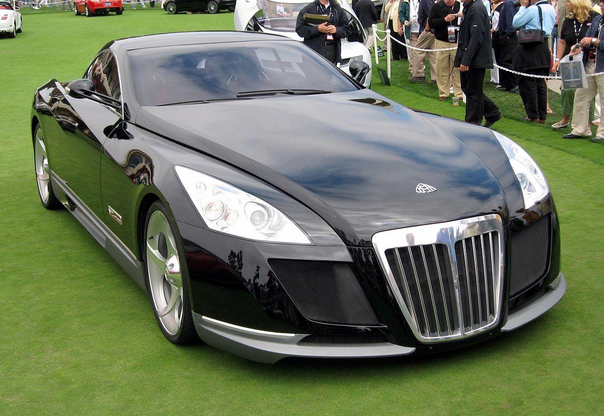 Verdens dyreste bil nummer 4, Mercedes-Benz Maybach Exelero
