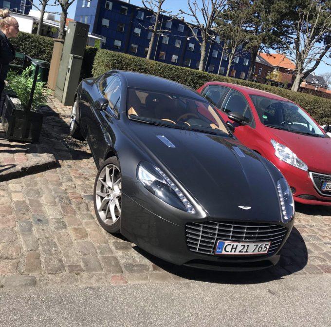 Dagens spot, Jeres spot Aston Martin Rapide