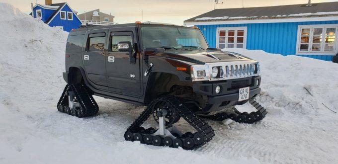 Jeres spot, Hummer på Grønland