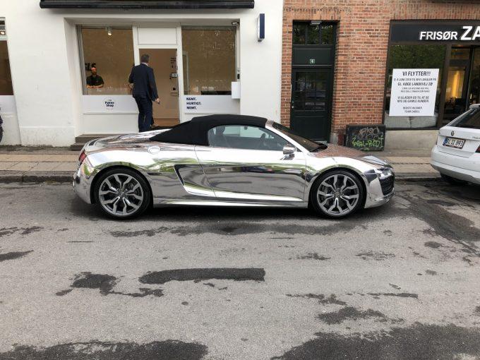 Dagens spot, Jeres Spot Chrome Audi R8 Spyder