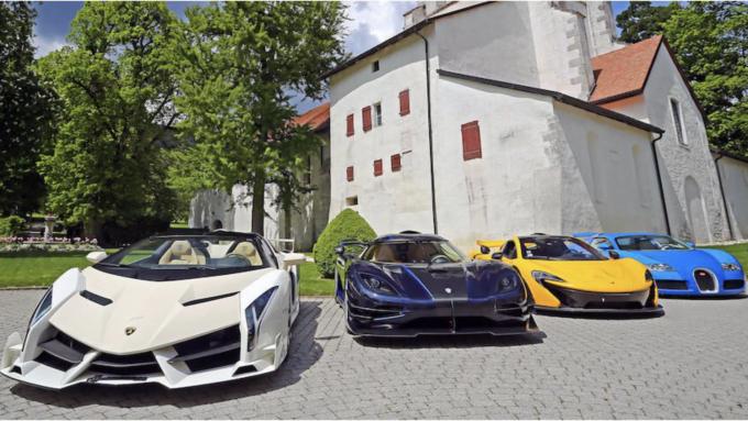 Beslaglagte superbiler på auktion - Veneno, One:1
