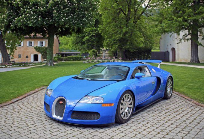 Beslaglagte superbiler på auktion - Bugatti Veyron