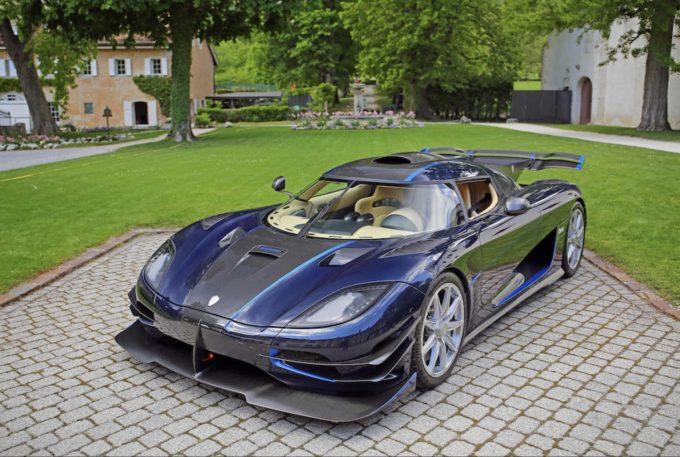 Beslaglagte superbiler på auktion - Koenigsegg One:1