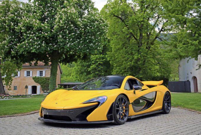 Beslaglagte superbiler på auktion - McLaren P1