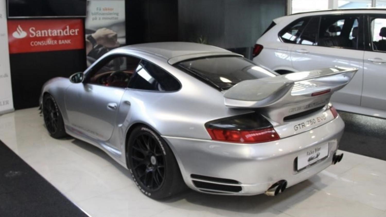 Porsche 911 Gemballa GTR 750 Sjælden Porsche på auktion