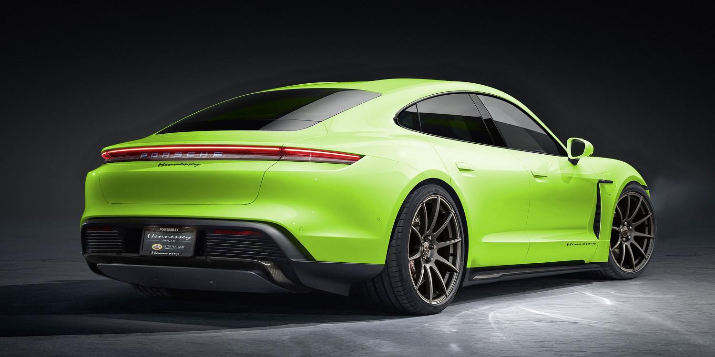 Hennessey Porsche Taycan første elbil projekt fra tuningsfirmaet