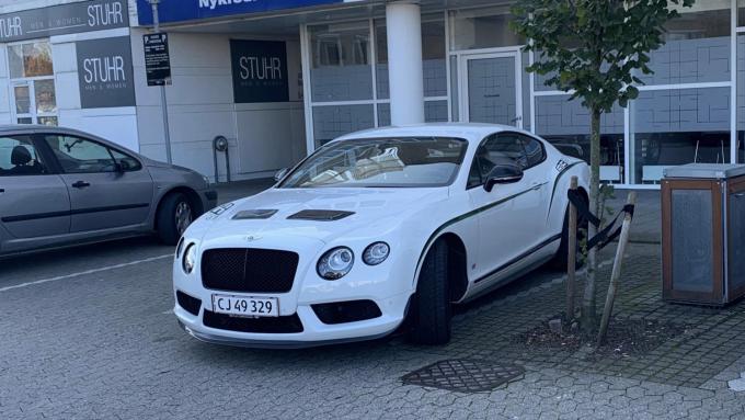 DFS af en Bentley Continental GT3-R