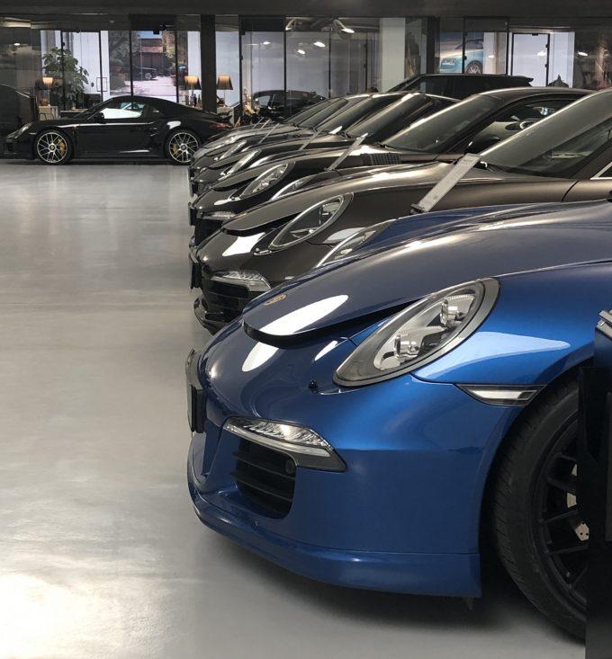 MyGarage, Porsche lane
