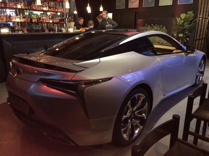 Lexus LC500 snart på det danske market