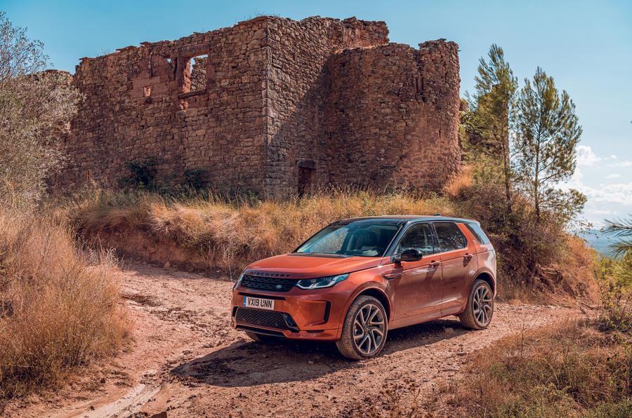 Land Rover Discovery Sport på top 10 over bedste SUV 2019