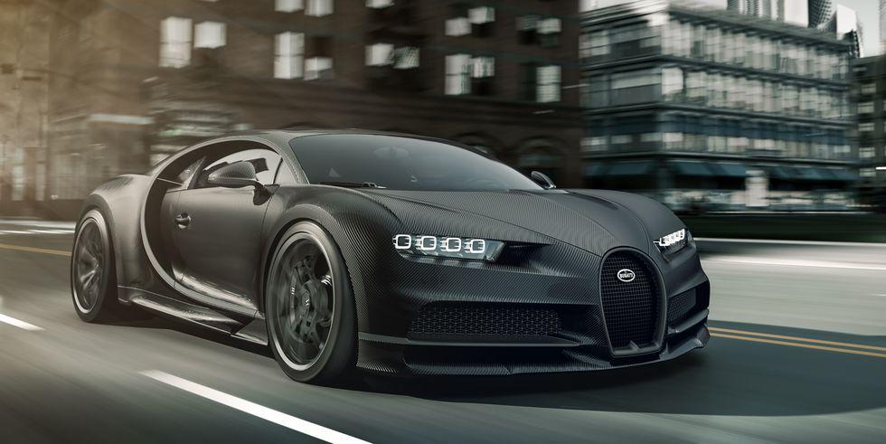 Bugatti Chiron Noire nu i en budgetudgave