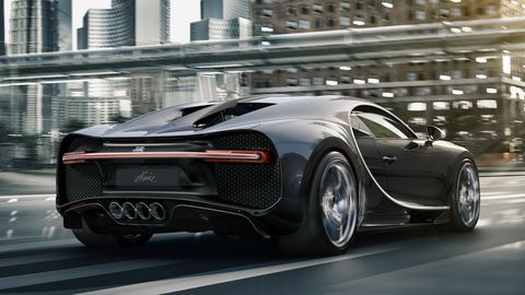 Bugatti Chiron Noire kommer nu i en budgetudgave