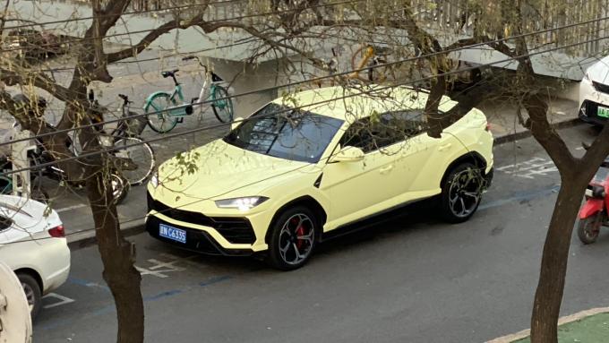 Dagens Spot modtaget fra Kina af en Lamborghini Urus