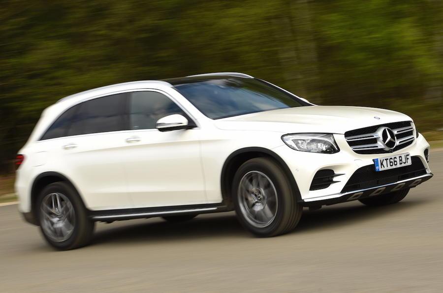 Mercedes-Benz GLC i top 10 over de bedste SUV'er