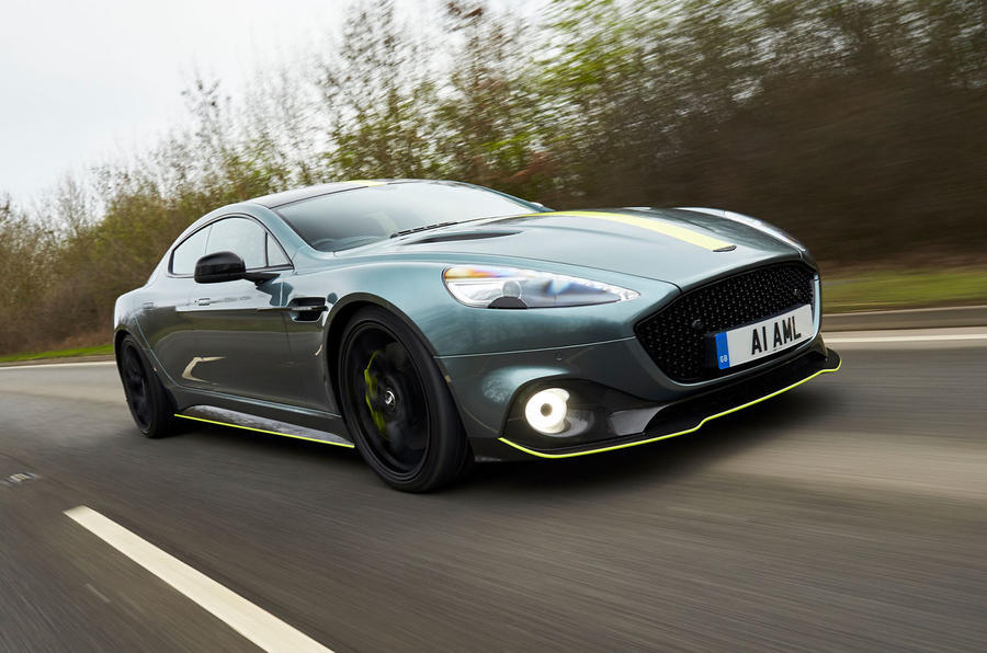 Top 10 bedste GT 2019 Aston Martin Rapide AMR