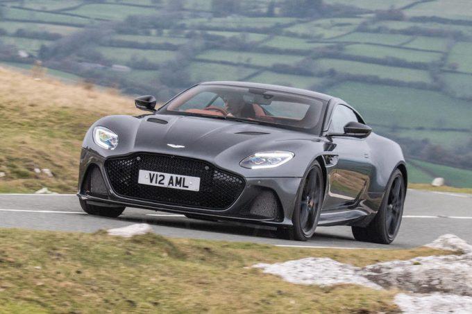 Top 10 bedste GT 2019 Aston Martin DBS Superleggera