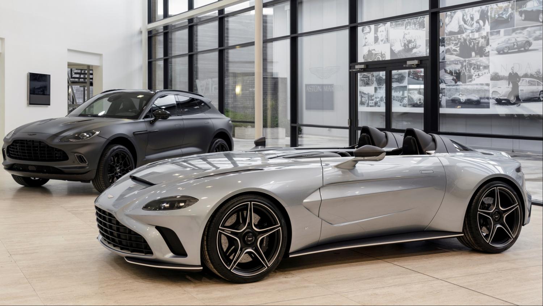 Nyhed Aston Martin afslører V12 Speedster hjemme i England