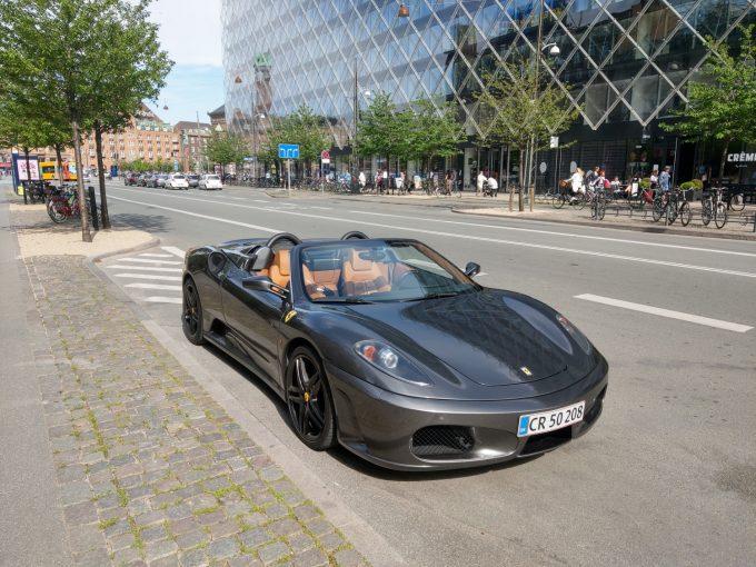 Dagens spot indsendt af Flemming Bertelsen, Ferrari 430 Spider