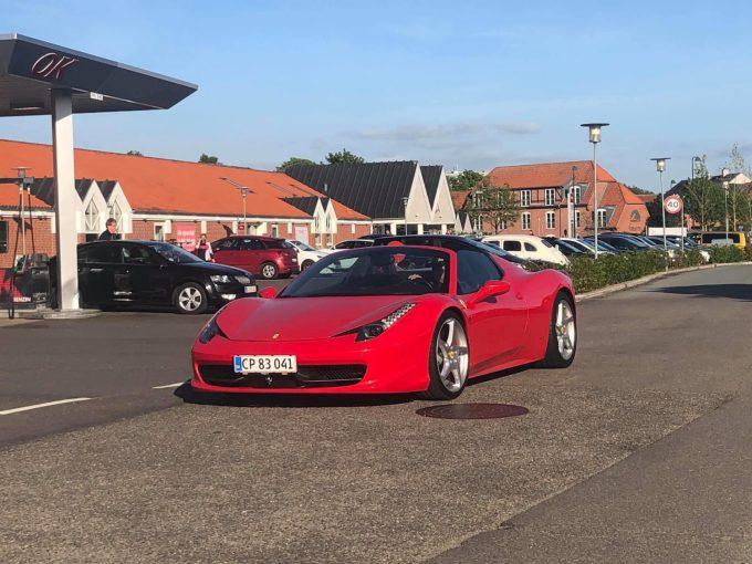 Nyt dagens spot fra Morten Fonvig, Ferrari 458 Spider