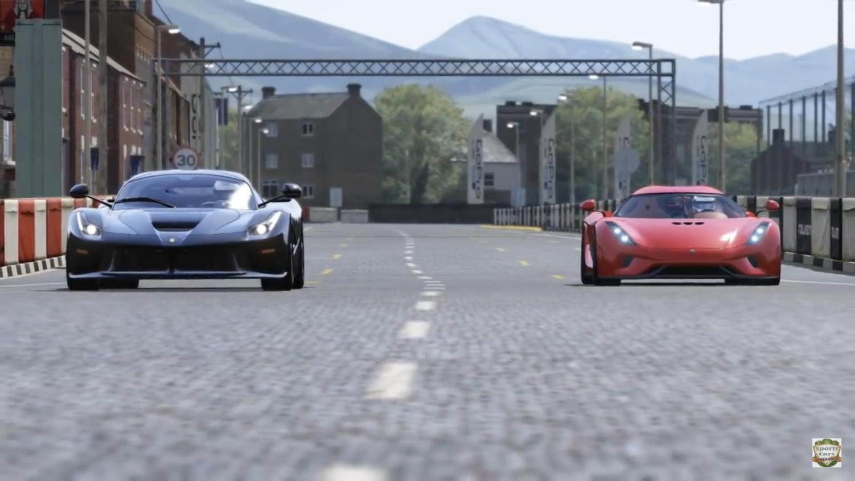 Vildeste race mellem LaFerrari og Koenigsegg Regera